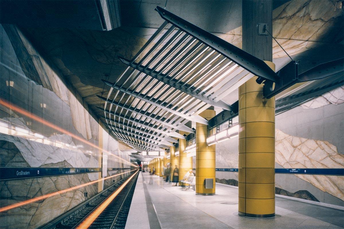 U-Bahn Grosshadern_2